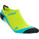 cep No Show Running Socks Men yellow/turquoise
